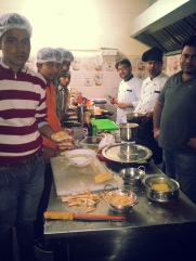all chefs working together