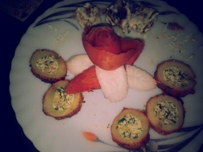 potato circles cutlets