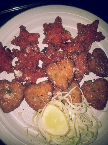 little hearts and stars cutlets